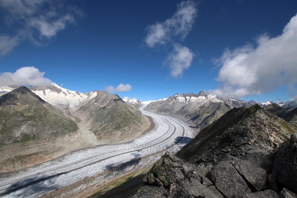 UNESCO Höhenweg vom Bettmerhorn über den Bettmergrat zum Eggishorn