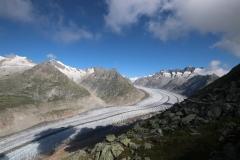 Aussichtspunkt auf den Aletschgletscher