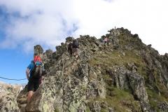 Der Gipfel des Bettmerhorns ist fast erreicht