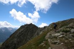 UNESCO Höhenweg vom Bettmerhorn über den Bettmergrat zum Eggishorn - Abstieg zur