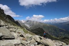 Abstieg Eggishorn zum Märjelensee