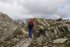 Wanderung vom Grimselpass zum Nägelisgrätli