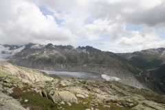 Blick auf den Rhonegletscher