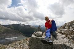 Aussicht auf den Rhonegletscher