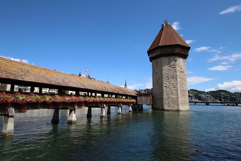 Kapellbrücke und Wasserturm