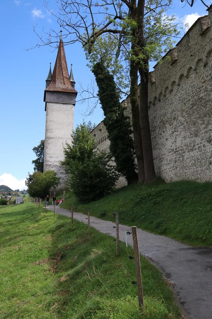 Männliturm und Museggmauer