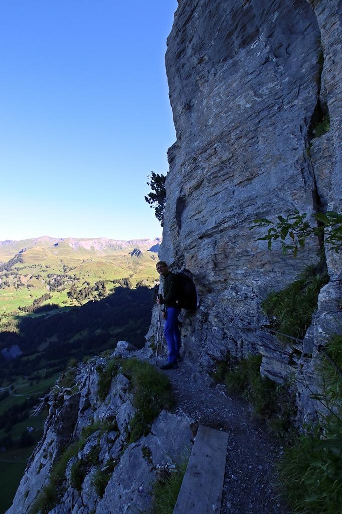 Wetterhorntrek: Von der Glecksteinhütte zur Schwarzwaldalp - Abstieg von der Glecksteinhütte