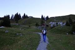 Wetterhorntrek: Von der Glecksteinhütte zur Schwarzwaldalp - Weg zur Großen Scheidegg