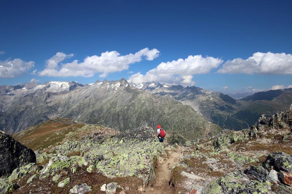 Wanderung vom Grimselpass zum Sidelhorn - Abstieg zum Grimselpass