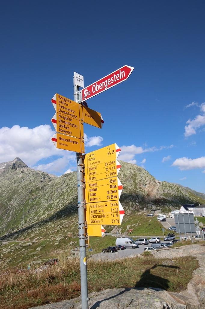 Wanderung vom Grimselpass zum Sidelhorn - Am Grimselpass