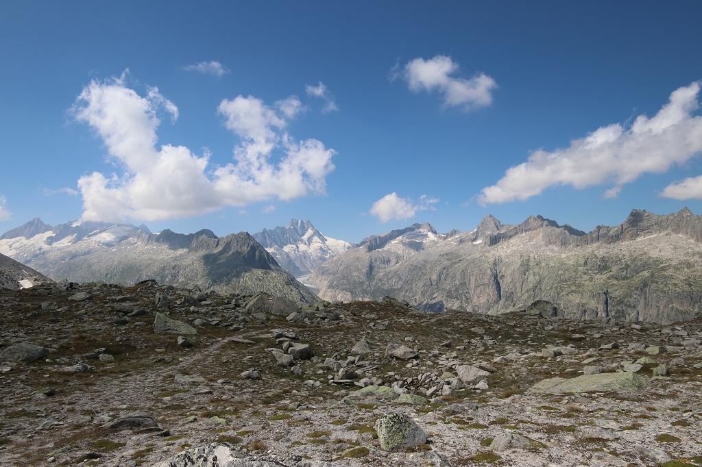 Bergpanorama von der Triebtenseelicke