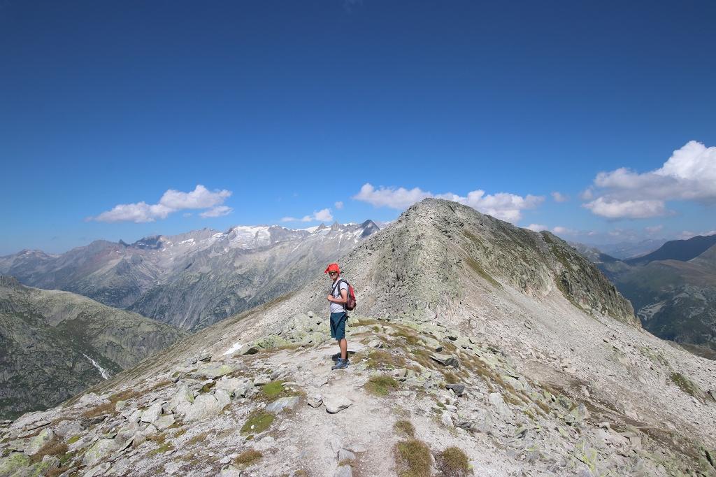 Wanderung vom Grimselpass zum Sidelhorn - Weg zum Gipfel