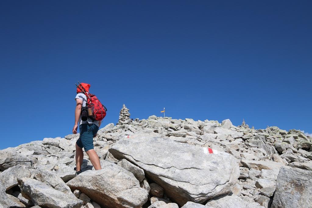 Wanderung vom Grimselpass zum Sidelhorn - Gipfel voraus