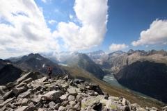 Wanderung vom Grimselpass zum Sidelhorn - Gipfelblick