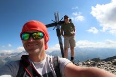 Wanderung vom Grimselpass zum Sidelhorn - Der Gipfel ist erreicht