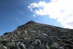 Wanderung vom Grimselpass zum Sidelhorn - Blick zurück aufs Sidelhorn
