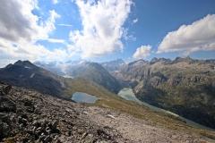 Wanderung vom Grimselpass zum Sidelhorn - Ein letzter Blick auf die Berner Alpen