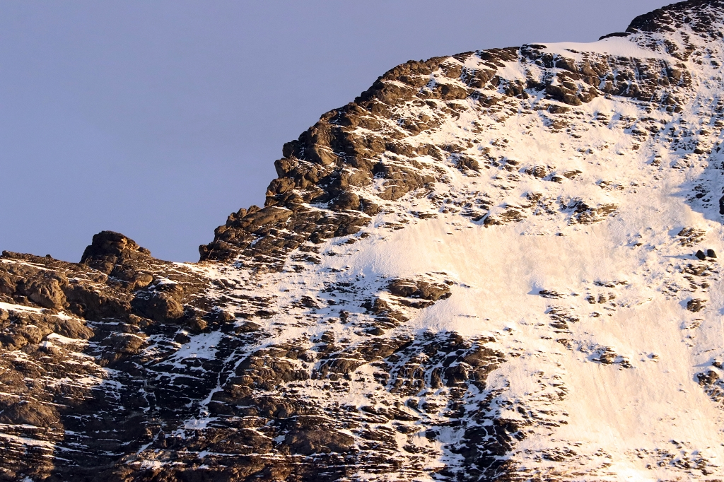 Aufstiegsroute Nord-Ost-Route Eiger