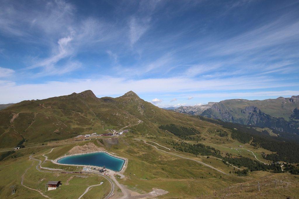 Auf dem Eiger Trail - Kleine Scheidegg