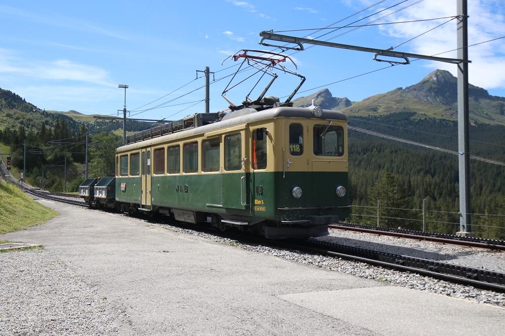 Bahnhof in Alpiglen