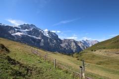 Aussicht von der Kleinen Scheidegg