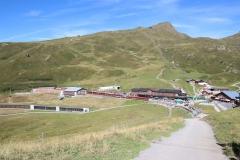 Aussicht auf die Kleine Scheidegg