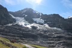 Eigergletscher auf dem Eiger Trail