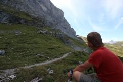 Auf dem Eiger Trail