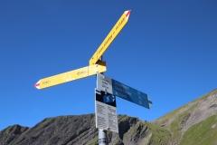 Vom Chrinnenboden weiter zum Einstieg des Schwarzhorn-Klettersteigs