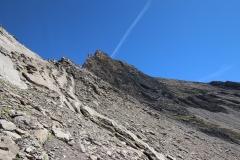 Auf dem Weg zum Schwarzhorn-Klettersteig