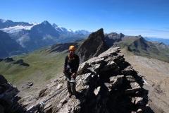 Klettersteig auf das Schwarzhorn