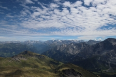Klettersteig auf das Schwarzhorn - Ausblicke kurz vorm Gipfel