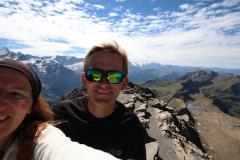 Auf dem Gipfel des Schwarzhorns