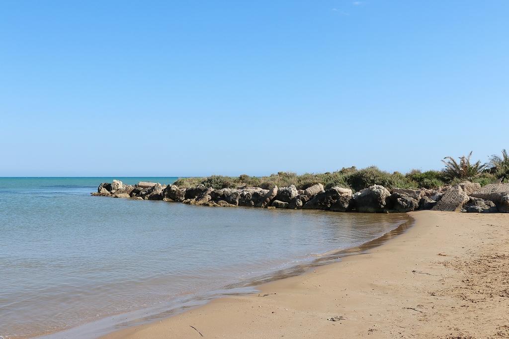 Am Strand in Punta Grande