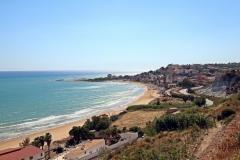 Blick auf Punta Grande Sizilien