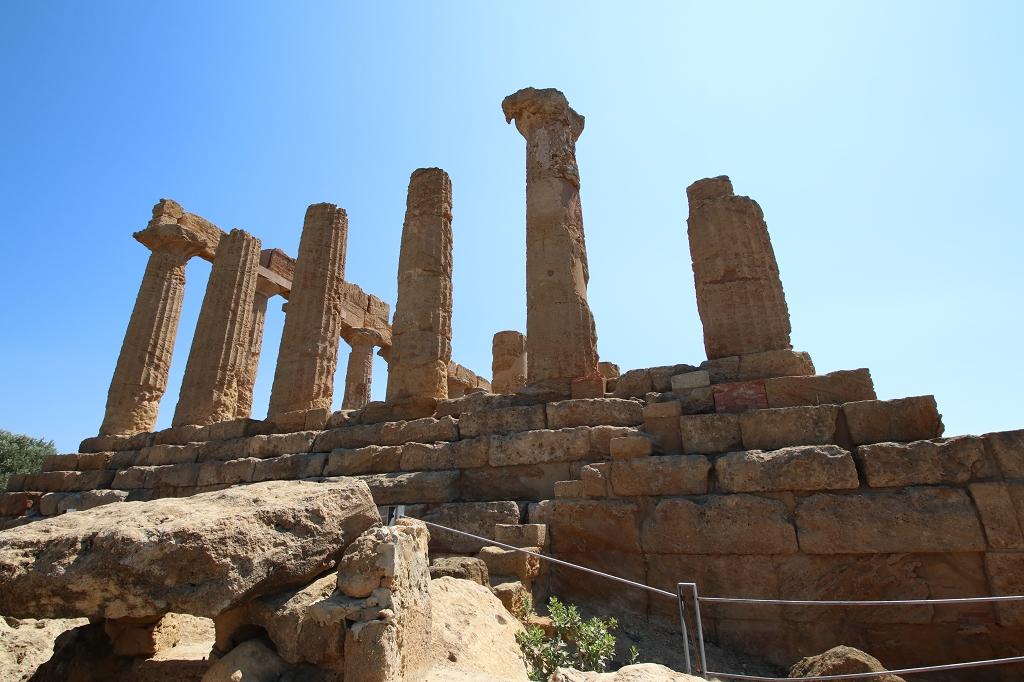 Heraklestempel im Valle dei Templi