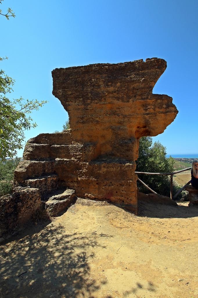 Alte Stadtmauer im Valle dei Templi