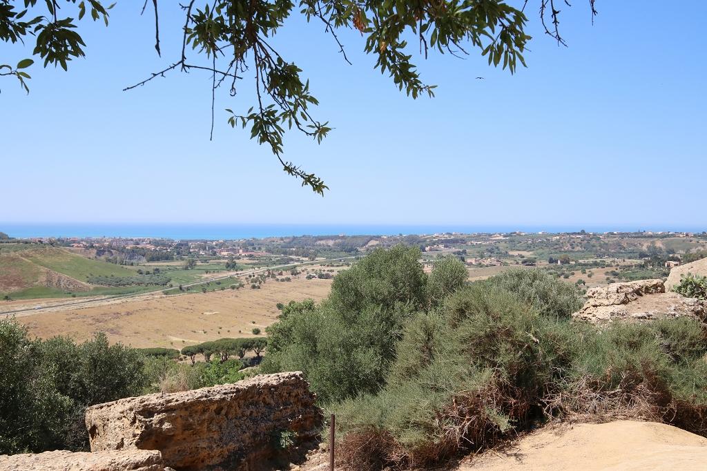 Ausblick vom Valle dei Templi