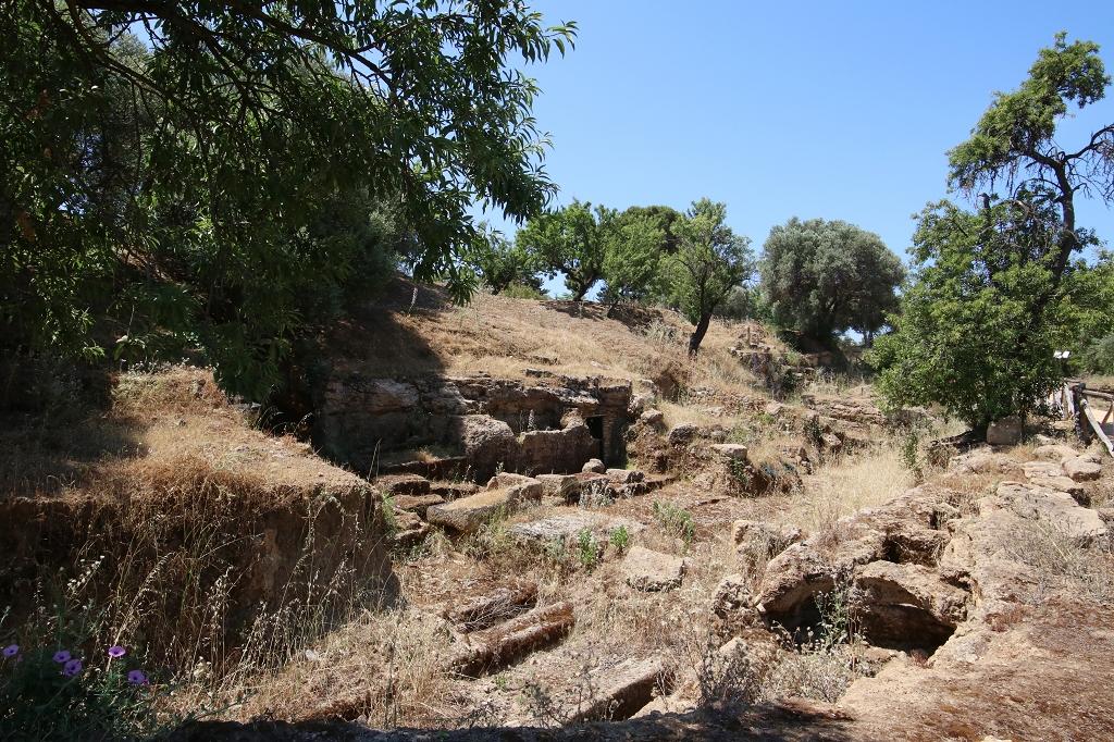 frühchristliche Nekropole Valle dei Templi
