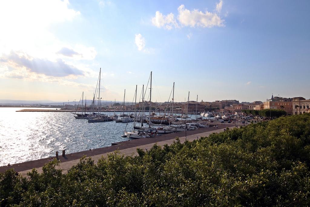 Jachthafen in Syrakus