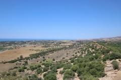 Aussicht vom Valle dei Templi