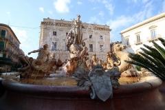 Piazza Archimedes in Syrakus
