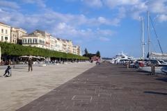 Strandpromenade Foro Vittorio Emanuele II in Syrakus