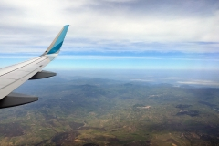 Anflug auf Catania