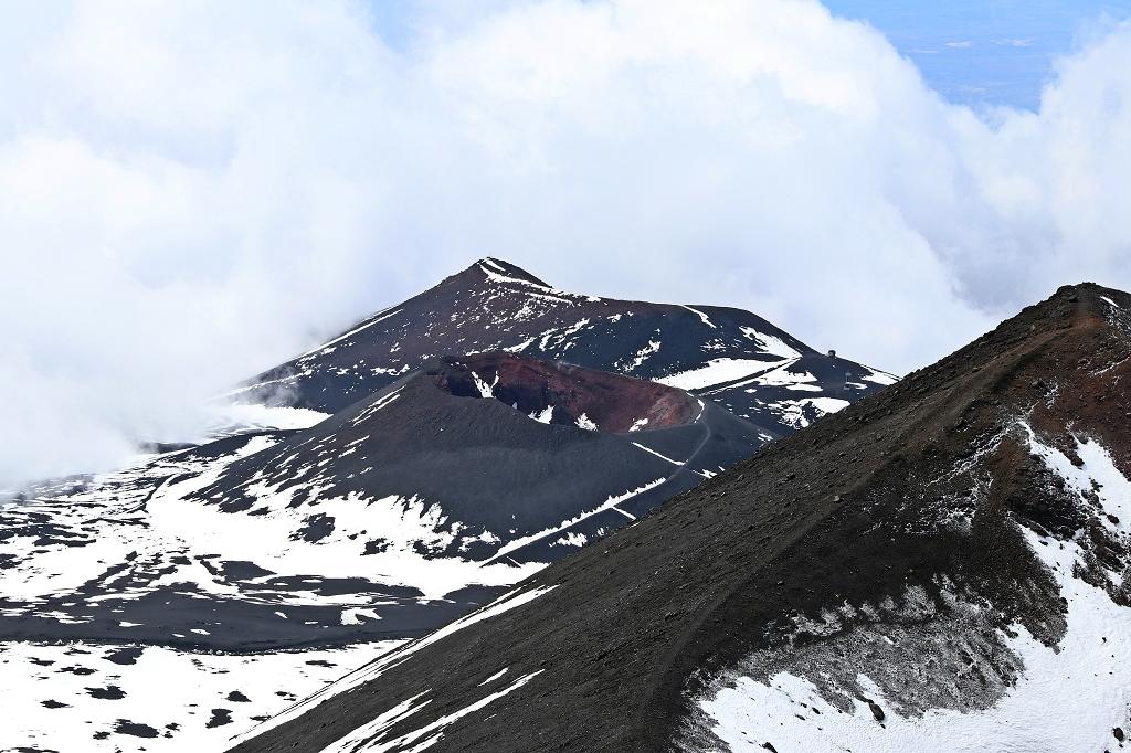 Ausblick auf den Cratere Piano del Lago
