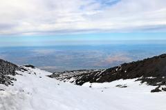 Blick ins Tal von 2900 Metern