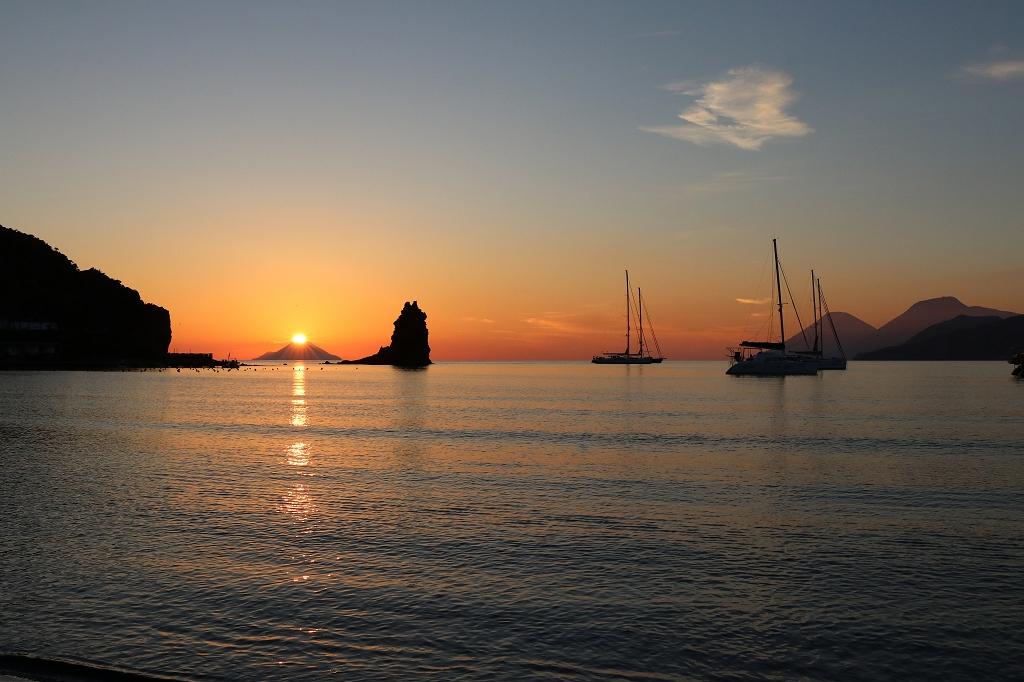 Sonnenuntergang an der Baia Negra