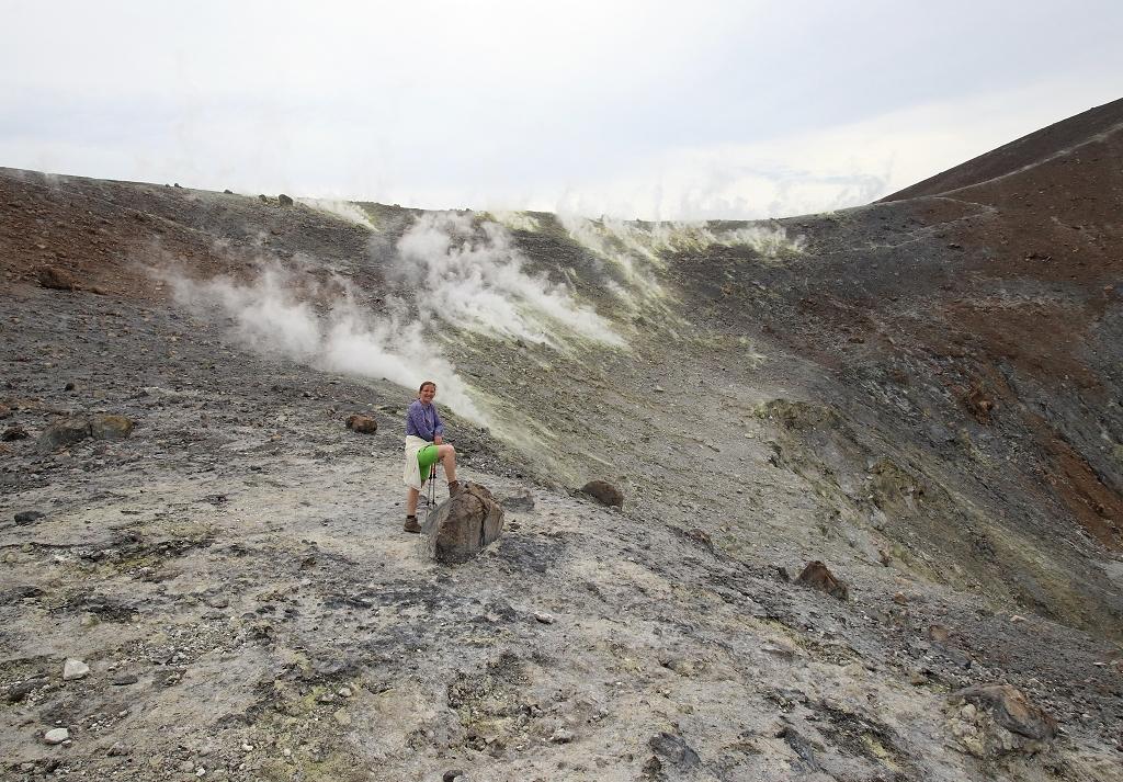 Im Krater