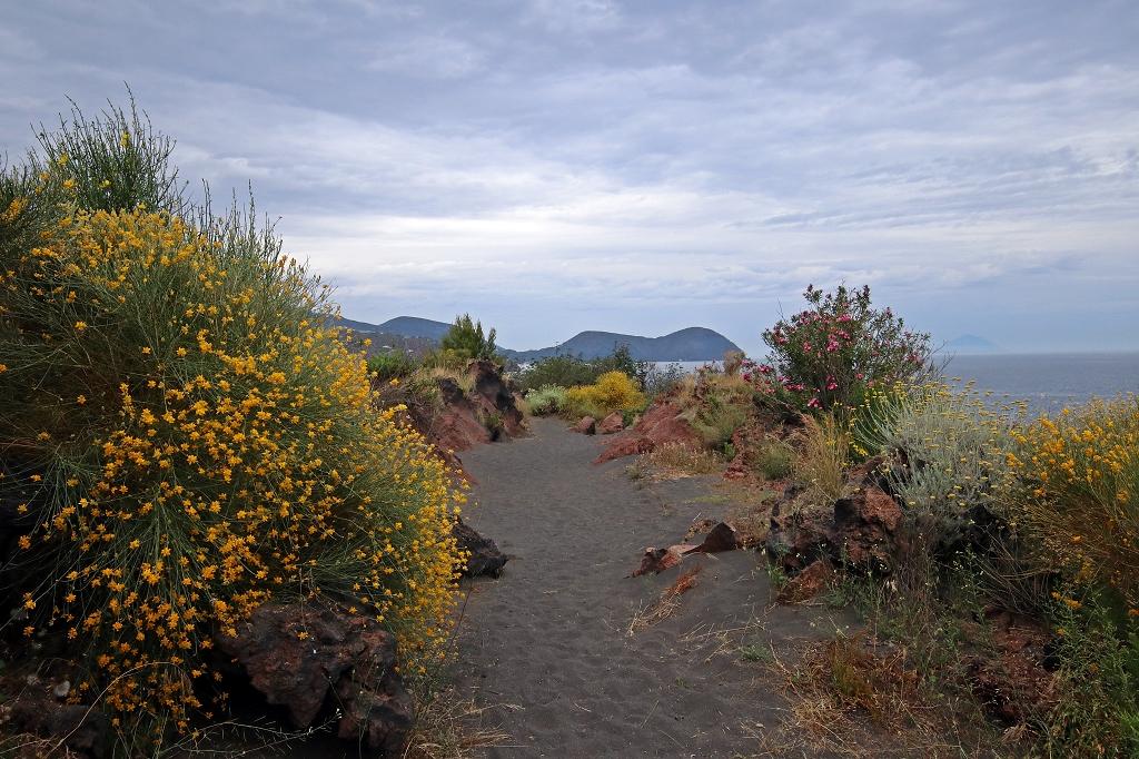 Abstieg vom Gran Cratere