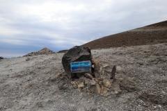 Angelangt am Kraterrand